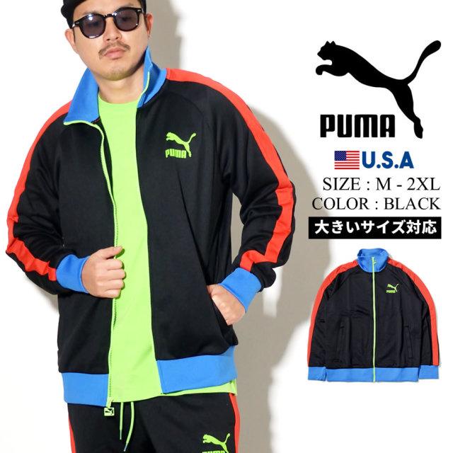 PUMA プーマ トラックジャケット メンズ ロゴ ICONIC T7 TRACK JKT PT 42 PUMA BLACK 595286