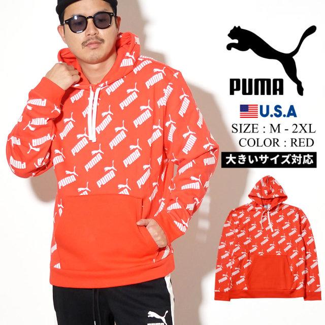 PUMA プーマ パーカー メンズ ロゴ AMPLIFIED HOODY FL 01 PUMA BLACK 597247