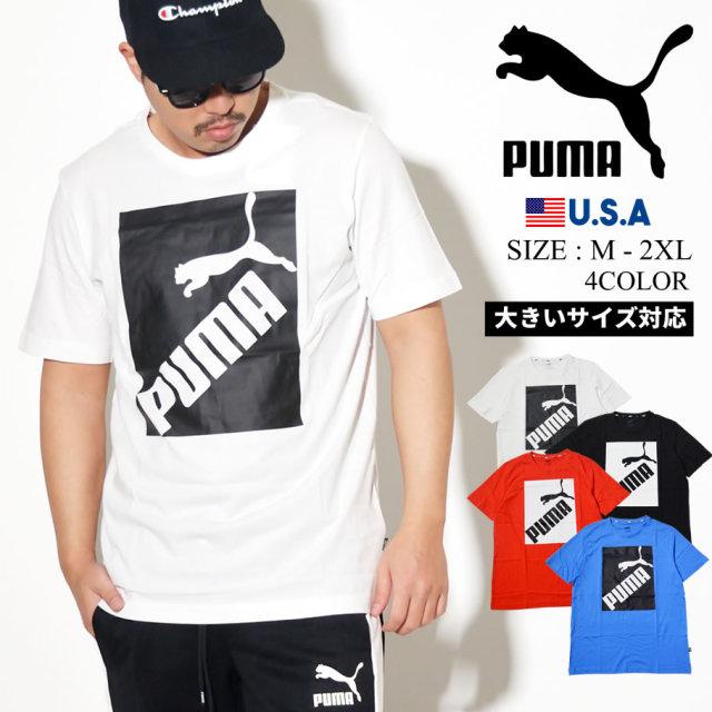 PUMA プーマ 半袖 Tシャツ メンズ ロゴ BIG LOGO TEE 581386
