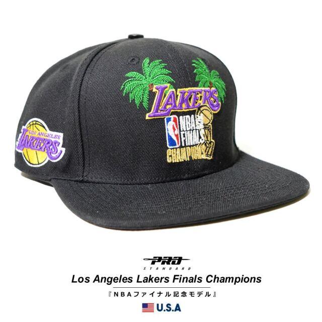 プロスタンダード PRO STANDARD キャップ 帽子 メンズ レディース ロサンゼルス・レイカーズ NBA LOS ANGELES LAKERS 2020 FINALS CHAMPIONS PALM SNAPBACK