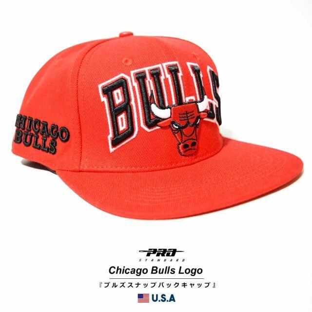 プロスタンダード PRO STANDARD キャップ 帽子 メンズ レディース シカゴ・ブルズ NBA CHICAGO BULLS WORDMARK SNAPBACK HAT