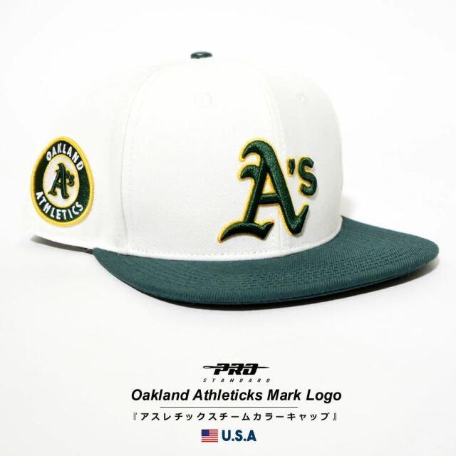 プロスタンダード PRO STANDARD キャップ 帽子 メンズ レディース オークランド・アスレチックス MLB OAKLAND ATHLETICS MARK LOGO SNAPBACK HAT