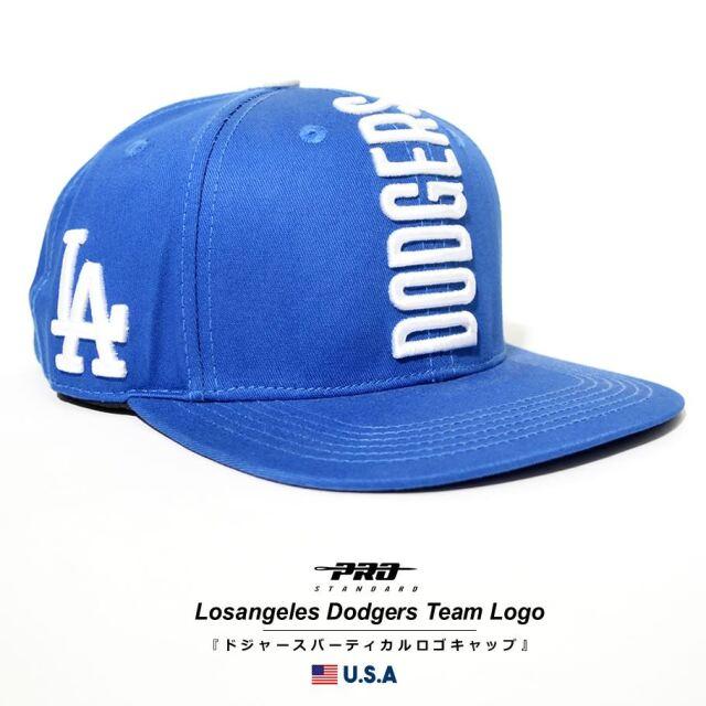 プロスタンダード PRO STANDARD キャップ 帽子 メンズ レディース ロサンゼルス・ドジャース MLB LOS ANGELES DODGERS TEAM LOGO SNAPBACK HAT