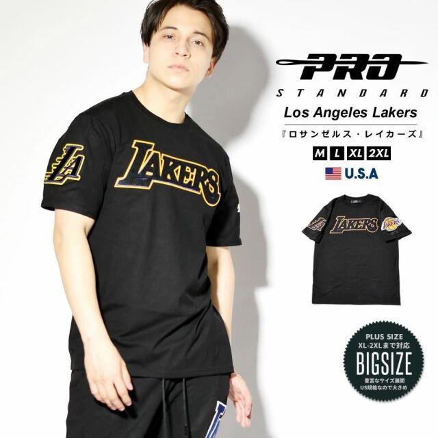 プロスタンダード PRO STANDARD Tシャツ メンズ 半袖 ロサンゼルス・レイカーズ NBA LOS ANGELES LAKERS LOGO TEE