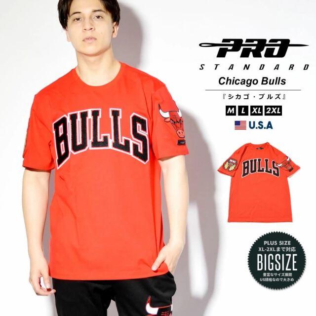 プロスタンダード PRO STANDARD Tシャツ メンズ 半袖 シカゴ・ブルズ NBA CHICAGO BULLS LOGO TEE