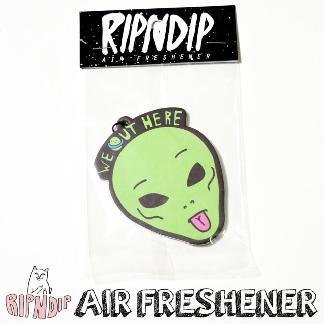 RIPNDIP リップンディップ エアフレッシュナー ストリート系 スケーター ファッション 通販 RDAT003
