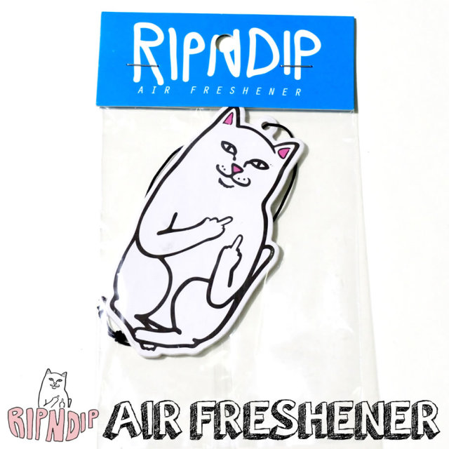 RIPNDIP リップンディップ エアフレッシュナー ストリート系 スケーター ファッション 通販 RDAT005