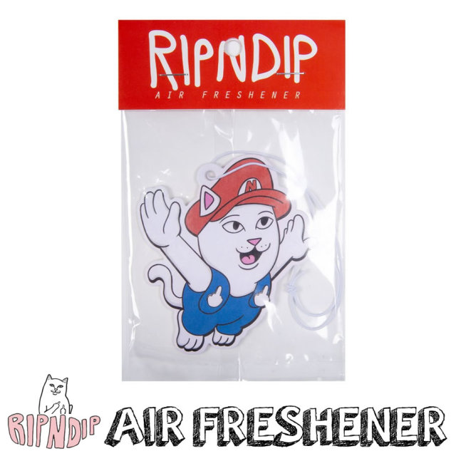 ripndip リップンディップ エアーフレッシュナー 芳香剤 車 NERMIO AIR FRESHENER RND4003
