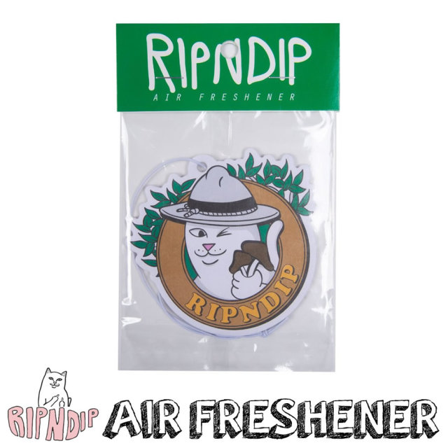 ripndip リップンディップ エアーフレッシュナー 芳香剤 車 LORD NERMAL AIR FRESHENER RND4004