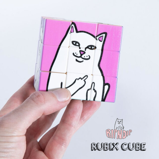 RIPNDIP リップンディップ ルービックキューブ Lord Nermal Rubik's Cube RND4809