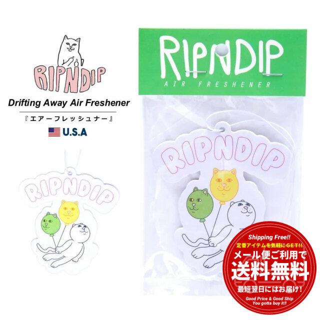 RIPNDIP リップンディップ 吊り下げ式エアフレッシュナー 芳香剤 消臭剤 フレグランス カー用品  猫 ネコ Drifting Away Air Freshener RND5009 春夏 新作