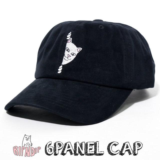 ripndip リップンディップ キャップ メンズ レディース 猫 ネコ ストリート系 ファッション RND3972 帽子 通販