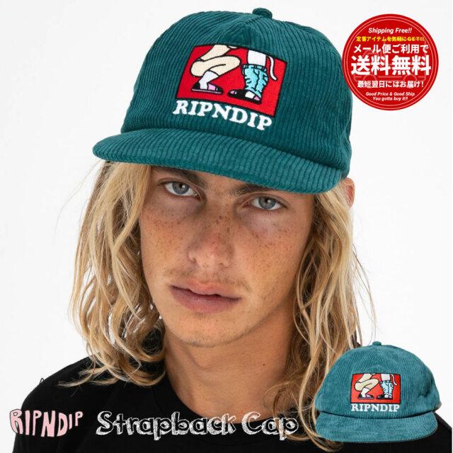 RIPNDIP リップンディップ コーデュロイ キャップ 帽子 メンズ レディース Love Is Blind Strapback RND4755