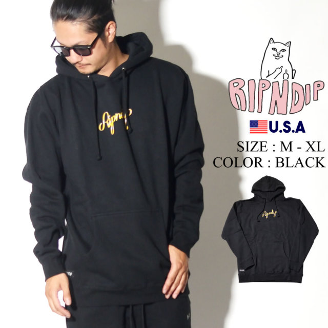 RIPNDIP リップンディップ パーカー メンズ レディース ネーム ロゴ ストリート系 ファッション Angel & Devil Hoodie 服 通販