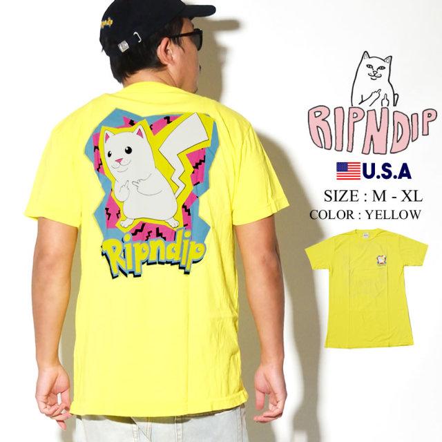 ripndip リップンディップ Tシャツ メンズ 猫 ネコ パロディ ストリート系 ファッション RND3948 服 通販