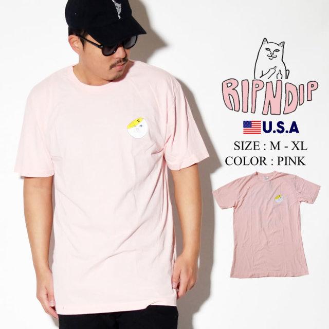 ripndip リップンディップ Tシャツ メンズ 猫 ネコ ストリート系 ファッション RND3964 服 通販