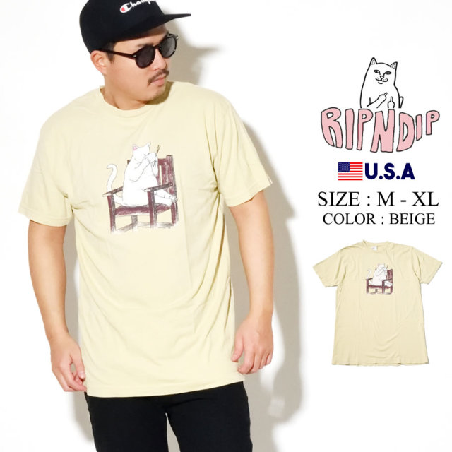 ripndip リップンディップ Tシャツ メンズ TAKE OUT TEE RND3960