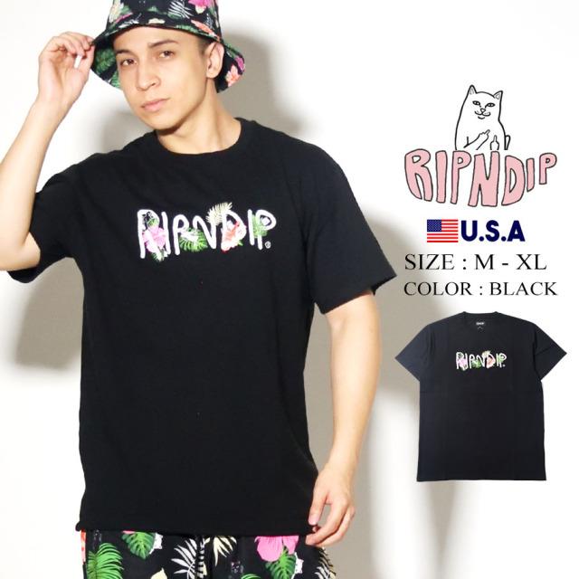 RIPNDIP リップンディップ Tシャツ 半袖 ネームロゴ Maui Nerm Tee RND4306
