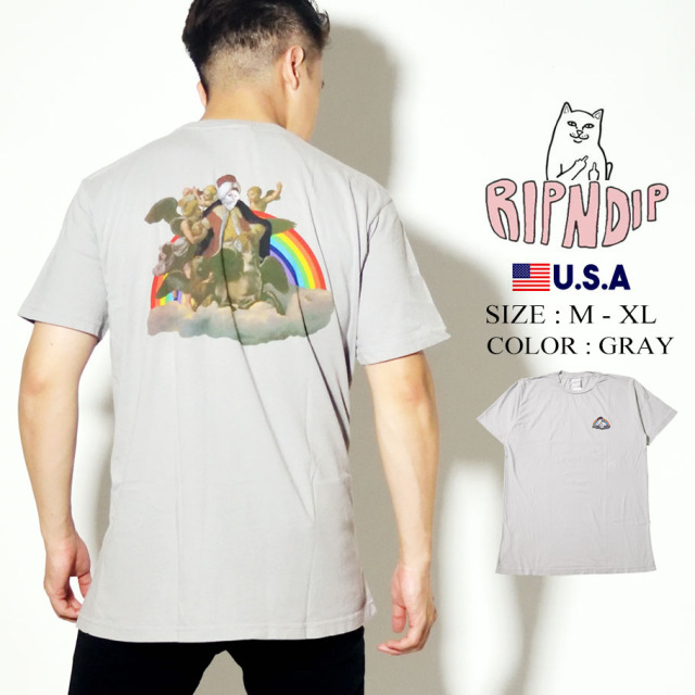 RIPNDIP リップンディップ Tシャツ 半袖 On Cloud Tee RND4350