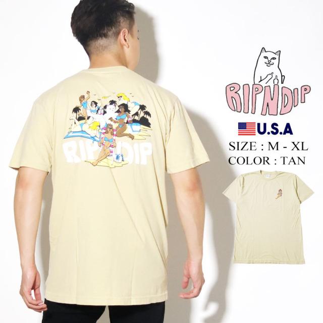 RIPNDIP リップンディップ Tシャツ 半袖 Spring Break Tee RND4358