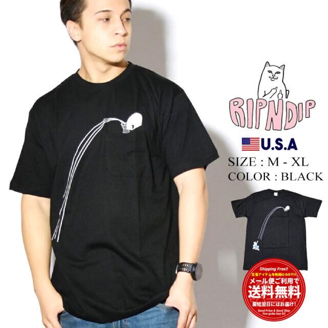 ripndip リップンディップ Tシャツ Hoops Pocket Tee RND4564