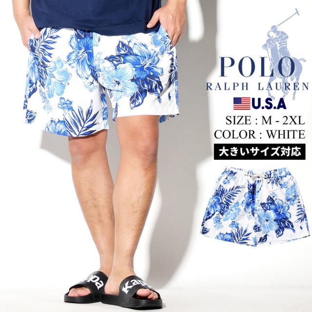 Polo Ralph Lauren ポロ ラルフローレン 水着 スイムパンツ メンズ 大きいサイズ 花柄 アロハ ハイビスカス カジュアル ストリート系 ファッション 服 通販