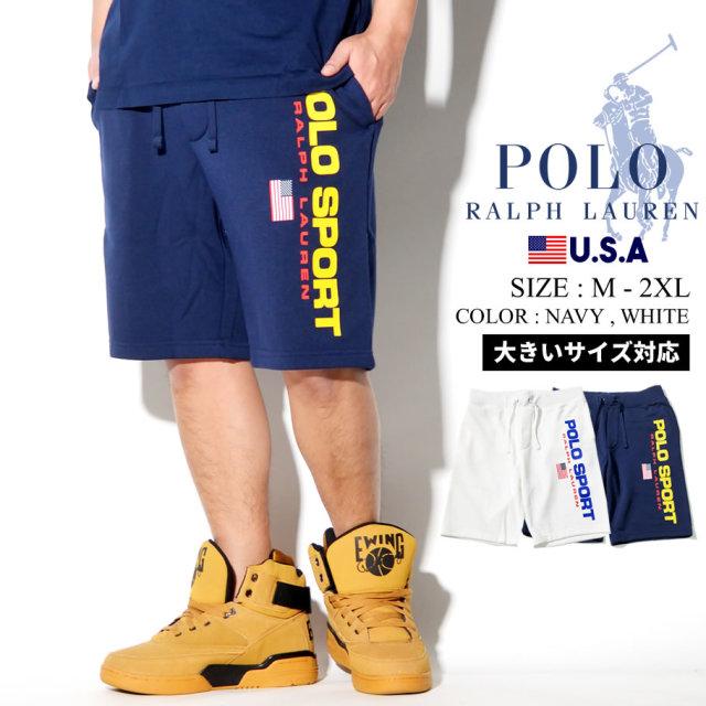Polo Ralph Lauren ポロ ラルフローレン ハーフパンツ メンズ 大きいサイズ ロゴ POLO SPORT カジュアル ストリート系 ファッション 服 通販