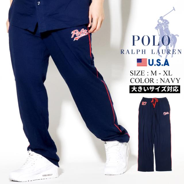 Polo Ralph Lauren ポロ ラルフローレン ロングパンツ メンズ ホワイト ストライプ PJ PANT PK64SR