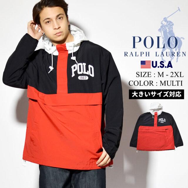Polo Ralph Lauren ポロ ラルフローレン アノラックパーカー ジャケット メンズ アウター USAモデル グラントプルオーバーラインド  710814372001