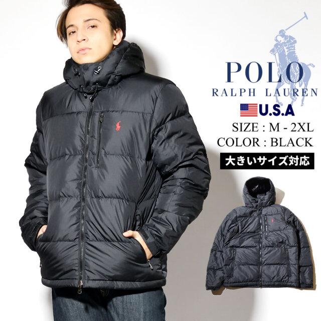 Polo Ralph Lauren ポロ ラルフローレン ダウンジャケット メンズ フード取り外し可 アウター USAモデル 710810936001
