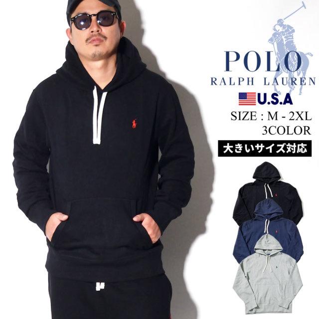 Polo Ralph Lauren ポロ ラルフローレン パーカー メンズ 大きいサイズ ロゴ カジュアル ストリート系 ファッション 服 通販