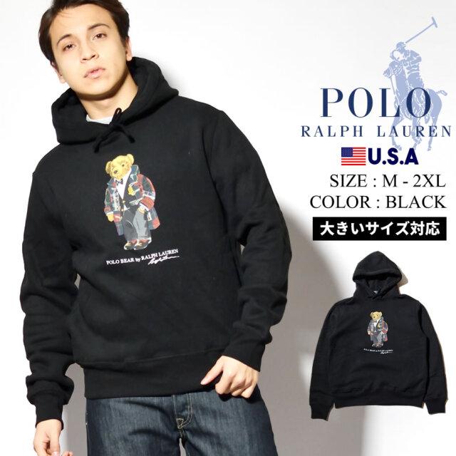 Polo Ralph Lauren ポロ ラルフローレン パーカー メンズ プルオーバー 裏起毛スウェット USAモデル ポロベアー 710815193001