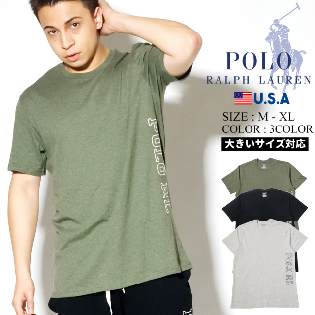 Polo Ralph Lauren ポロ ラルフローレン Tシャツ メンズ POLO RL SHORT SLEEVE CREW PK20SR