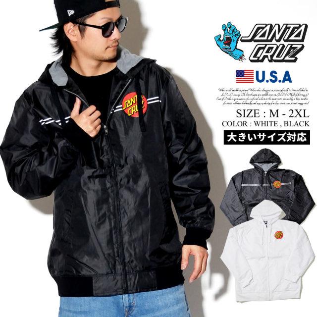 Santa Cruz サンタクルーズ ジャケット メンズ 大きいサイズ サークルロゴ ストリート系 スケーター スケボー スケートファッション 44641726 服 通販