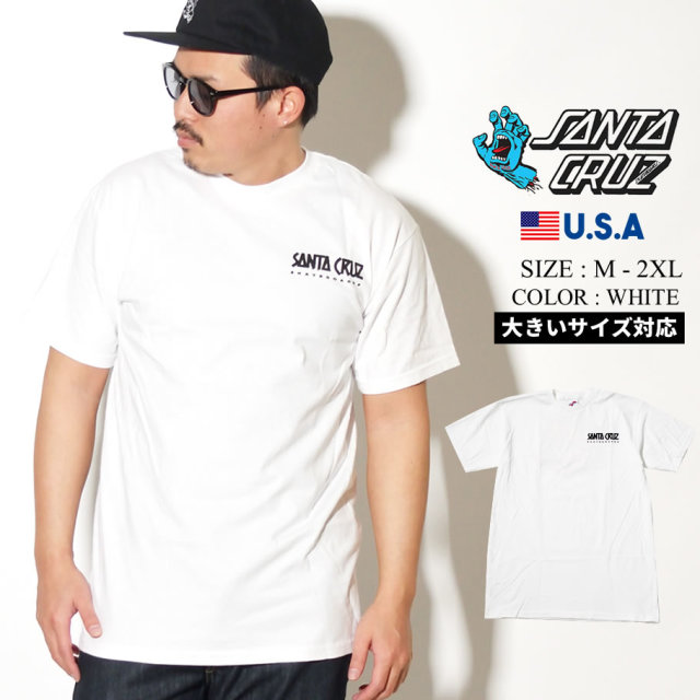 SANTA CRUZ (サンタクルーズ) 半袖Tシャツ SUMMER '76 S/S REGULAR T-SHIRT ホワイト (44154595)