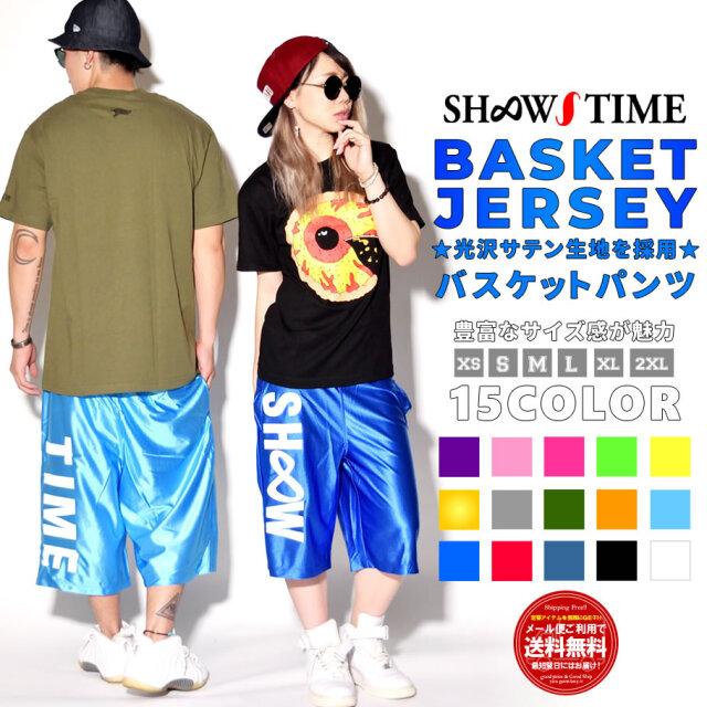 SHOOW TIME (ショウタイム) バスケットパンツ 前にSHOOW バックにTIME STDT014