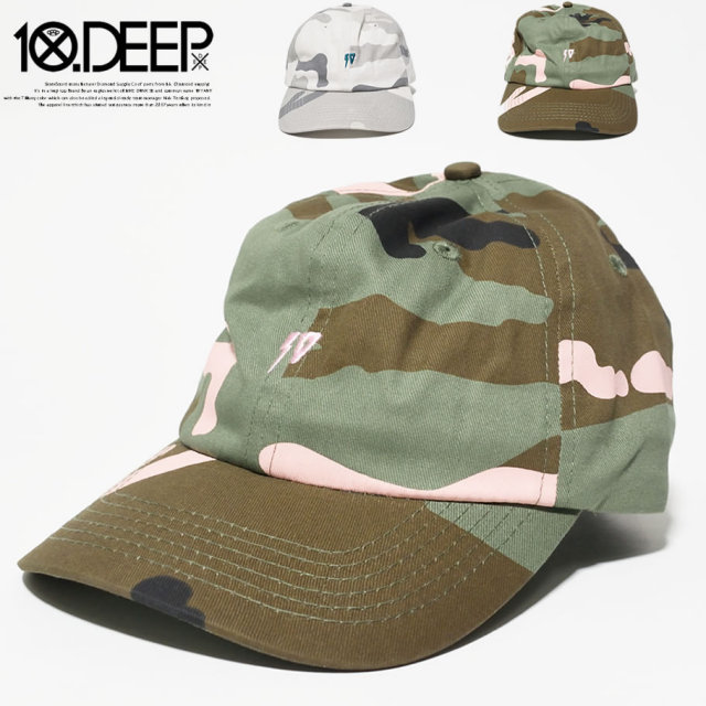 10DEEP (テンディープ) キャップ (72TD6209) TDCT038