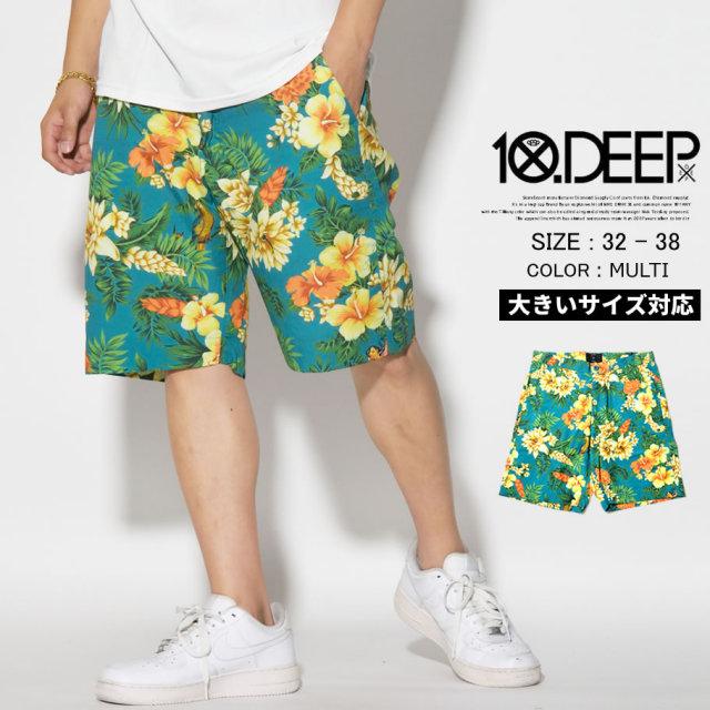 10DEEP (テンディープ) ハーフパンツ (72TD1402) TDDT046