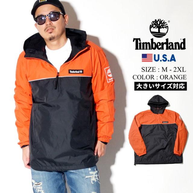 Timberland ティンバーランド ハーフジップジャケット メンズ 大きいサイズ ロゴ ライン ストリート系 カジュアル アウトドア ファッション 服 通販 TB0A1WX3