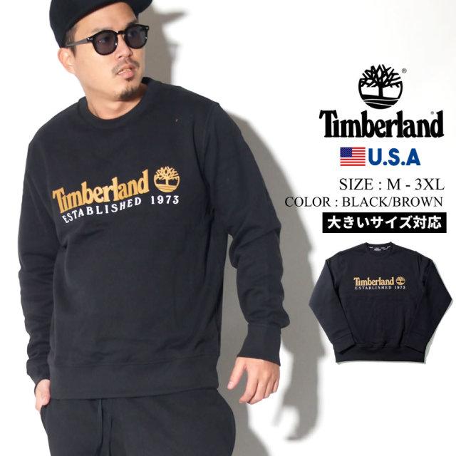 Timberland ティンバーランド トレーナー メンズ 大きいサイズ ロゴ ネーム ストリート系 カジュアル アウトドア ファッション 服 通販 TB0A1Y3B