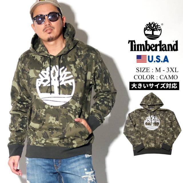 Timberland ティンバーランド 迷彩パーカー メンズ 大きいサイズ ロゴ ストリート系 カジュアル アウトドア ファッション 服 通販 TB0A1Y3X