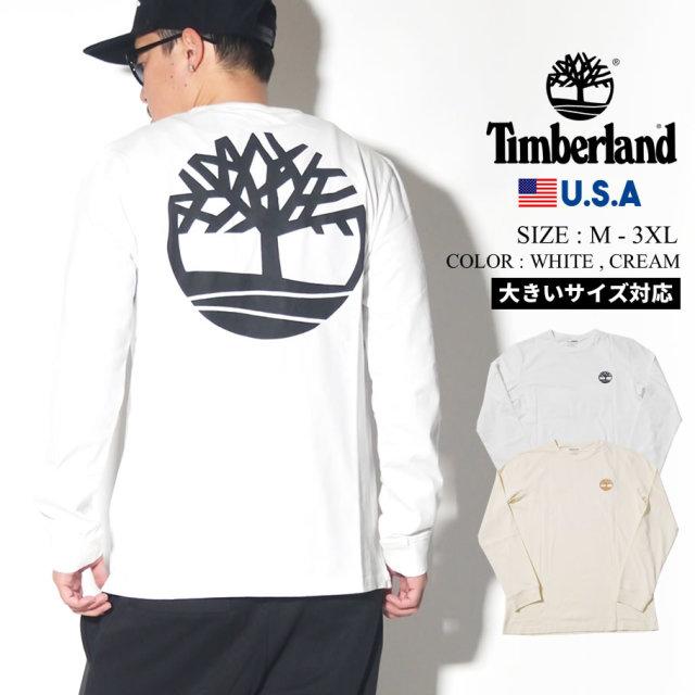 Timberland ティンバーランド ロンT 長袖Tシャツ メンズ 大きいサイズ ツリー ロゴ ストリート系 カジュアル アウトドア ファッション 服 通販 TB0A1Y65