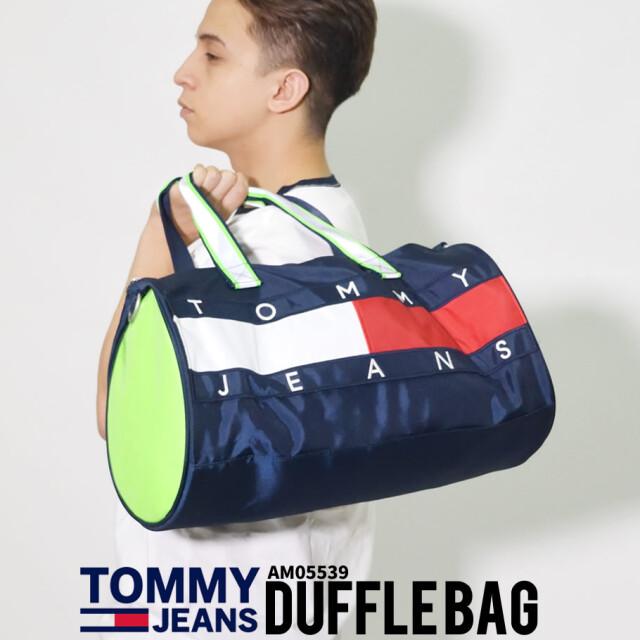 TOMMY HILFIGER トミーヒルフィガー ダッフルバック ロゴ 鞄 AM05539