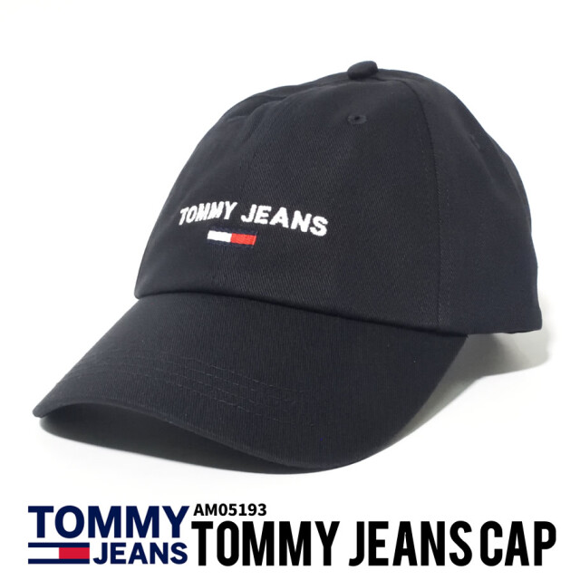 TOMMY HILFIGER トミーヒルフィガー キャップ ロゴ AM05193
