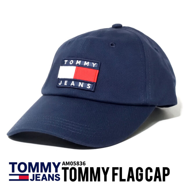 TOMMY HILFIGER トミーヒルフィガー キャップ ロゴ AM05836