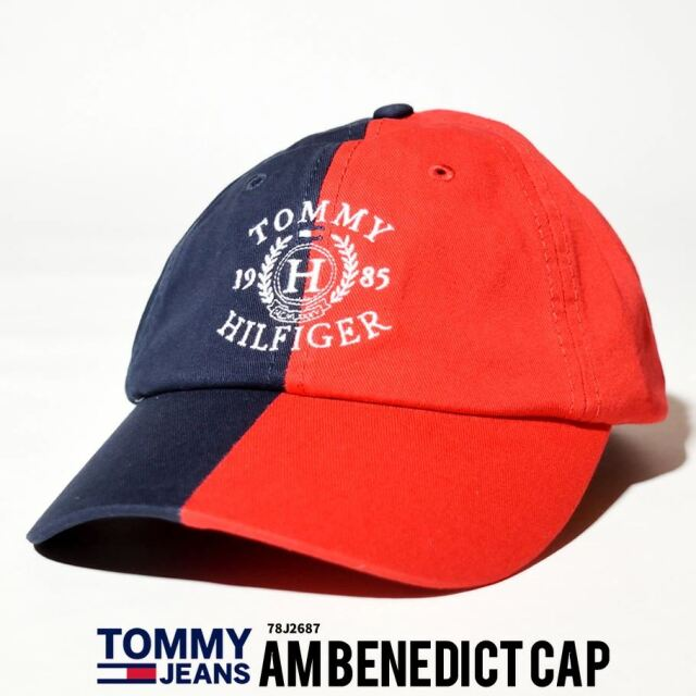 トミーヒルフィガー TOMMY HILFIGER キャップ 帽子 メンズ レディース USAモデル カラーブロックベースボールキャップ 21SS 春 新作