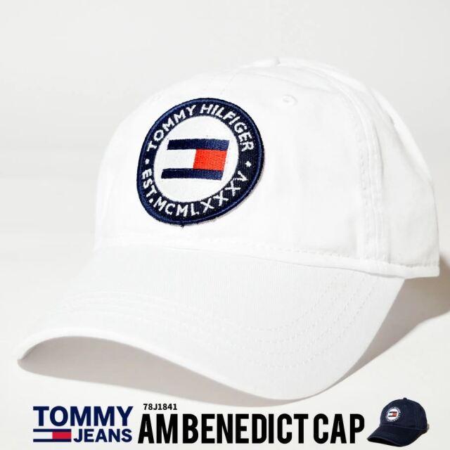 トミーヒルフィガー TOMMY HILFIGER キャップ 帽子 メンズ レディース USAモデル ラウンドロゴキャップ 21SS 春 新作