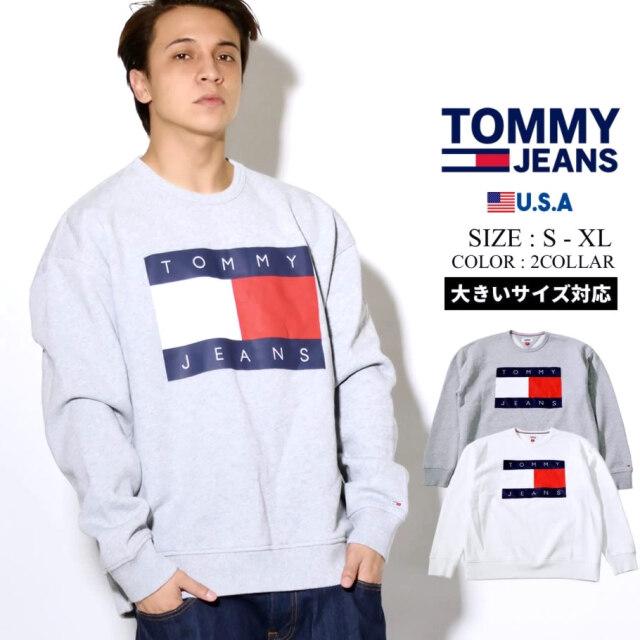 TOMMY JEANS トミー ジーンズ トレーナー メンズ ロゴ ストリート カジュアル ファッション 78F0169