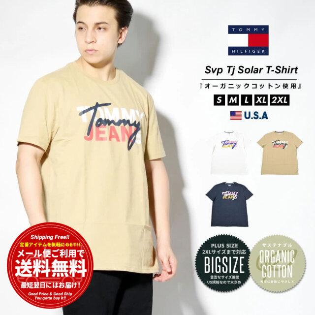 トミーヒルフィガー TOMMY HILFIGER Tシャツ メンズ 半袖 ロゴプリント ブランド USAモデル 大きいサイズ 78J3216