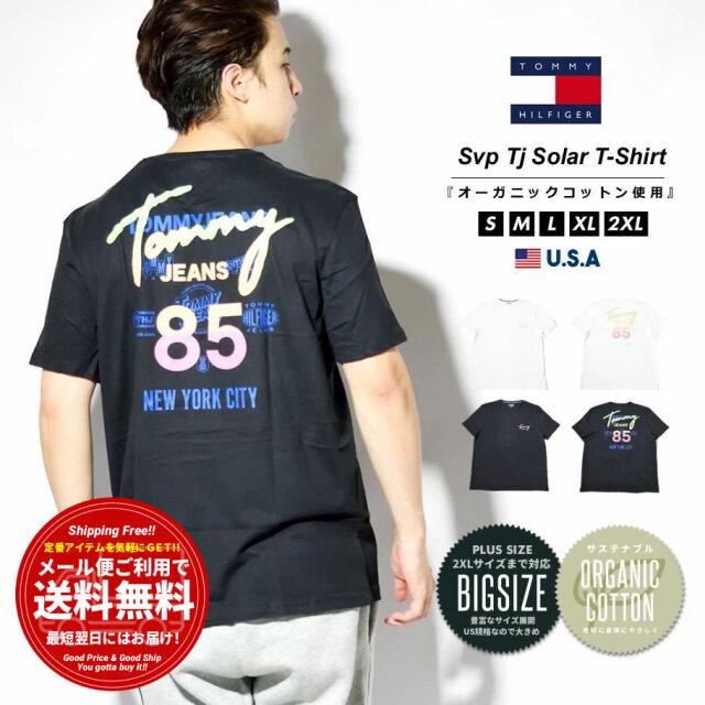 トミーヒルフィガー TOMMY HILFIGER Tシャツ メンズ 半袖 ロゴ バックプリント ブランド USAモデル 大きいサイズ 78J3220